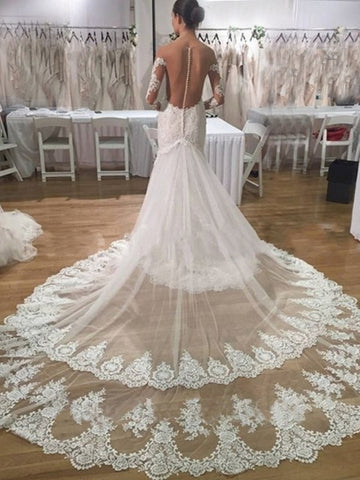 Luxury Lace Mermaid wedding dress