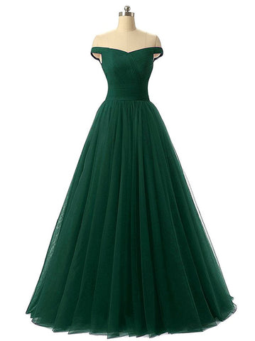 Green Chiffon Long Formal Dress