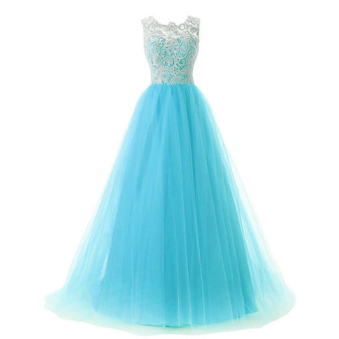 Tulle Prom Evening Dresses
