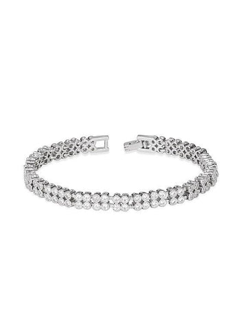 Double Layered Tennis Bracelet