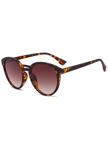 Anti UV Retro Double Crossbar Sunglasses