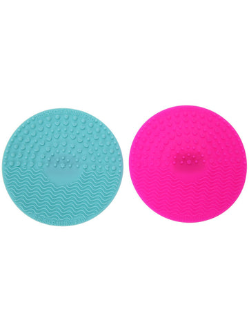 Pink Makeup Brush Cleaning Pads