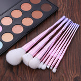 Fashion Facial Foundation Eyeshadow Blush Brush