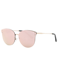 Lovely Pink Frameless Mirrored Sunglasses