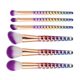 Foundation Eyeshadow Blusher Powder Cosmetic Brush Clearance 6Pcs