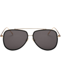 Vintage Double Rims Pilot Sunglasses