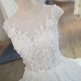 Vintage Princess Beach Wedding Dress