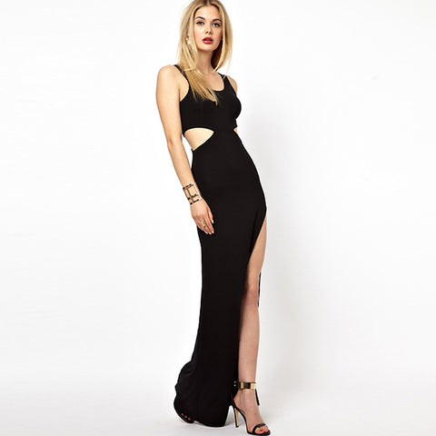 Sexy Hollow Sheath Cocktail Dress