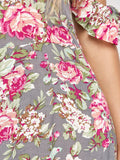 Beautiful Maxi Off The Shoulder Floral Dress