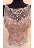 Mermaid Prom Dresses with Beaded & Rhinestones