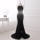 Crystal Two Piece Prom Dress