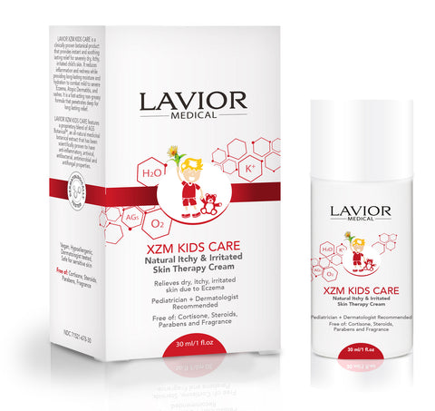 XZM KIDS CARE Natural Itchy Skin Therapy Cream