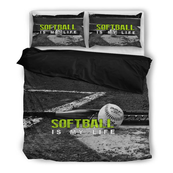 CP - SOFTBALL IS MY LIFE - Black inside