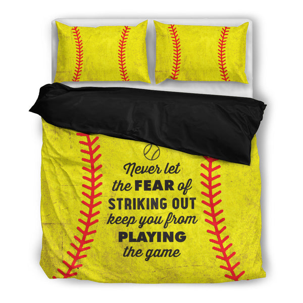 CP - Softball - Never let the fear - Black inside