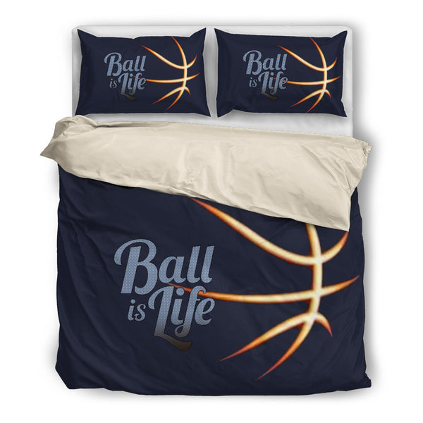 BALL IS LIFE - BEDDING SETS - White Inside