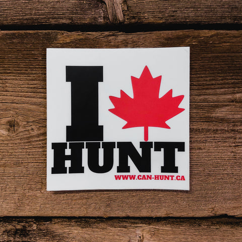 I CanHunt Decal