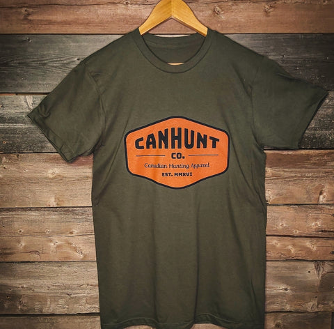 Patch T-Shirt - Military Green