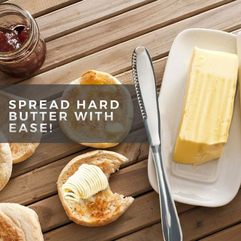 3 in 1 Stainless Steel Butter Knife Bread Cutter Butter Scoop Stainless Steel Handle Butter Curler Spread Hard Butter With Ease Butter Knife offundo butter spreader peanut butter scooper peanut butter spreader knife butter knife online easy butter spreader butter spreader knife bread butter knife butter and knife offundo butter spreader amazon master butter knife spltula butter knife fast butter spreader kitchen knifes kitchen tools kitchen organizers