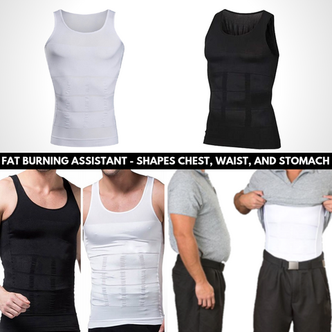 Be-In-Shape Men's Slimming Vest