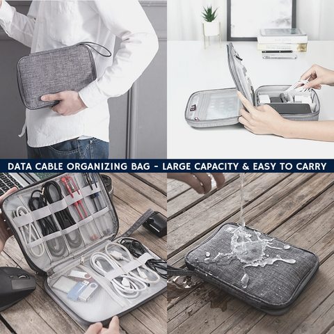 2nd Generation - Cable Organizing Bag