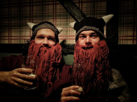 0ebbab03 The Legendary Barbarian Beard Beanie - VikingX