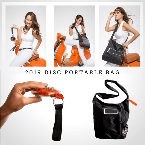 2019 Eco-friendly Disc Foldable Bag Shopping Bags