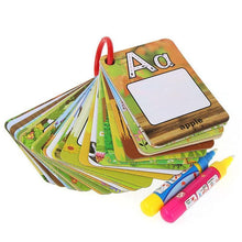 Load image into Gallery viewer, 26 Letters Water Drawing Cards Drawing Toys