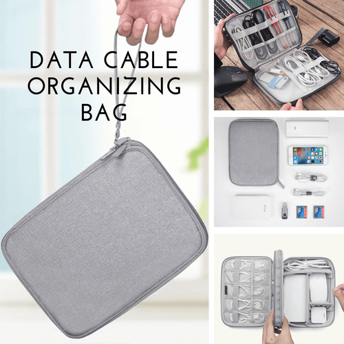 2nd Generation - Cable Organizing Bag Storage Bags
