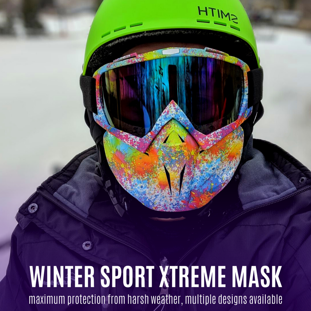 2nd Generation - Xtreme Winter Sports Mask Multi-color Winter Mask