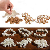 3D Dinosaur Shaped Cookie Cutter (3PCS) Cookie Cutters