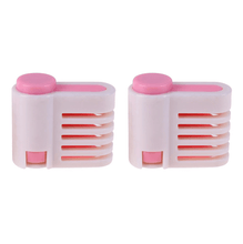 Load image into Gallery viewer, 5 Layer Perfect Cake Leveler (2 pcs set) Pink Other Cake Tools