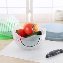 Load image into Gallery viewer, 60 Seconds Cutter bowl Green Cooking Tool