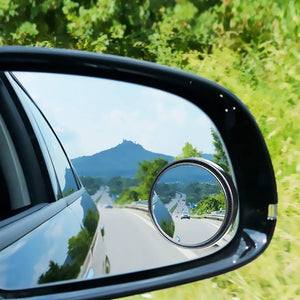 Adjustable Car Blindspot Mirror Black Car Mirrors