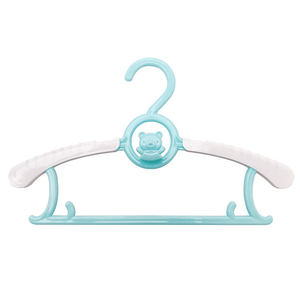Adjustable Organizer - Children's Telescopic Stack Hanger (5 pcs set) Blue Hangers & Racks