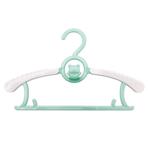 Adjustable Organizer - Children's Telescopic Stack Hanger (5 pcs set) Green Hangers & Racks