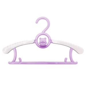 Adjustable Organizer - Children's Telescopic Stack Hanger (5 pcs set) Purple Hangers & Racks