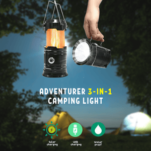 Adventurer 3-in-1 Camping Light Portable Lanterns
