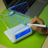 Alarm Clocks iShine® - Luminous Digital Alarm Clock with Message Board