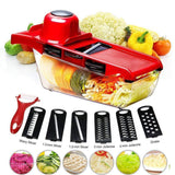 All in One Vegetable Cutter Shredders & Slicers
