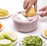 All-Round Kitchen Slicer Pink Shredders & Slicers