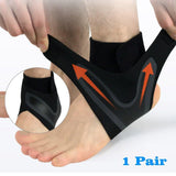 Ankle Safety - Sports Ankle Sleeve Pair / S Ankle Support