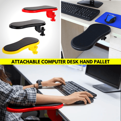 Arm Relaxer - Computer Armrest Pad Red Armrest Pads