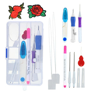 Artistic Embroidery Pen Kit Set 2 Sewing Tools & Accessory