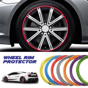 AutoMazing Wheel Rim Protector Red Rim Protector