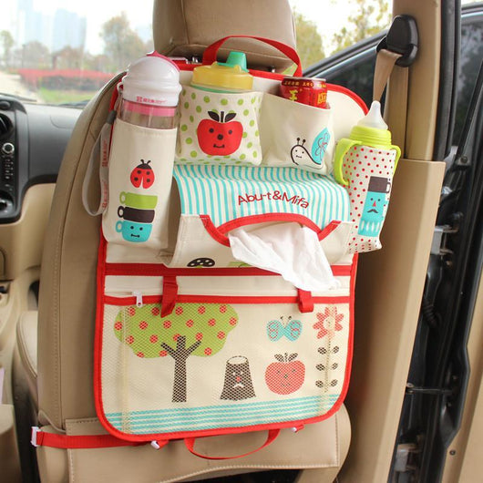 Automobiles Seat Covers Apple Fairytale Car Back Organizer