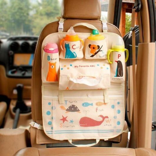 Automobiles Seat Covers Whale Fairytale Car Back Seat Organizer