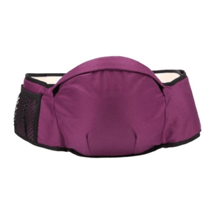Baby Carrier Waist Belt Bag Purple Baby Carrier