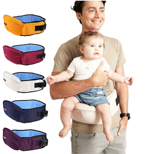 Baby Carrier Waist Belt Bag White Baby Carrier