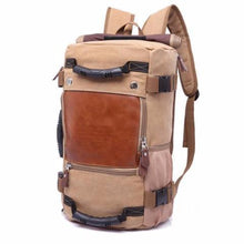 Load image into Gallery viewer, Backpacks khaki Versatile Backpack