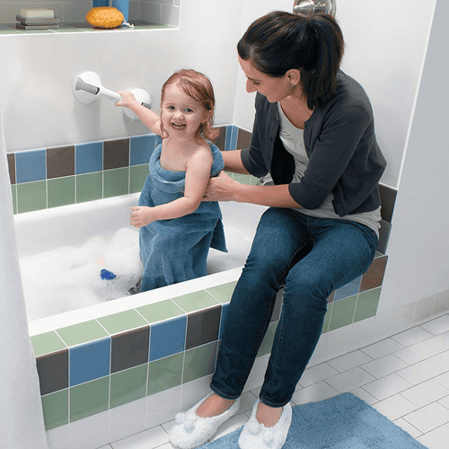 Bathroom Anti Slip Safety Rail Grey Bathroom Accessories Sets